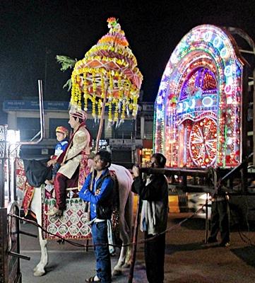 Hochzeit in Agra