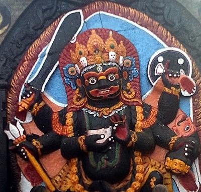 Kali in Kathmandu