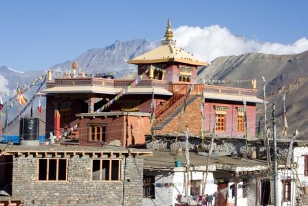 Tempel in Muktinath