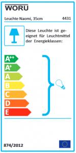 Energieausweis Naomi 35 cm